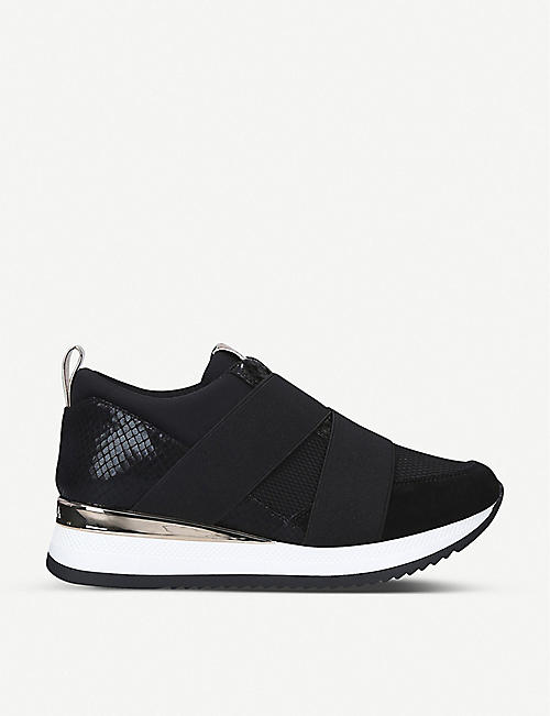 CARVELA: Just panelled trainers