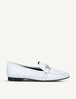 ALDO Astawia crocodile-embossed leather loafers
