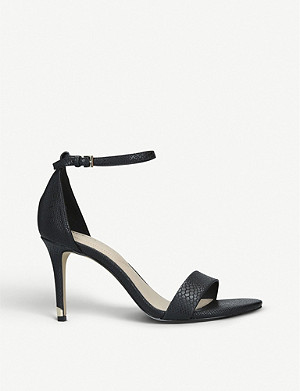 ALDO Eriressi snakeskin-embossed faux-leather sandals