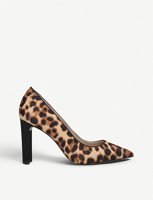 ALDO Febriclya leopard-print faux-suede courts
