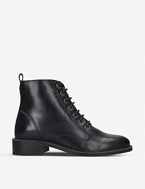 CARVELA: Spike leather ankle boots