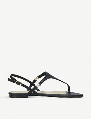 ALDO Kedulia snakeskin-embossed faux-leather sandals