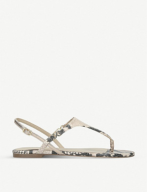 ALDO Kedulia snakeskin-print faux-leather sandals