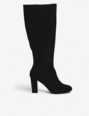 CARVELA Trunk faux-suede knee-high boots