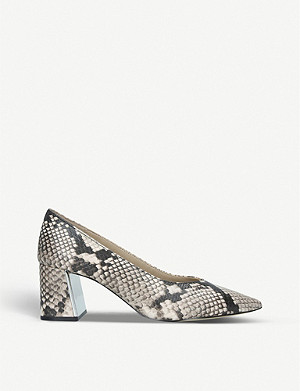 ALDO Sevilassa snake-print leather courts