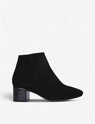 CARVELA COMFORT: Rolo suede ankle boots