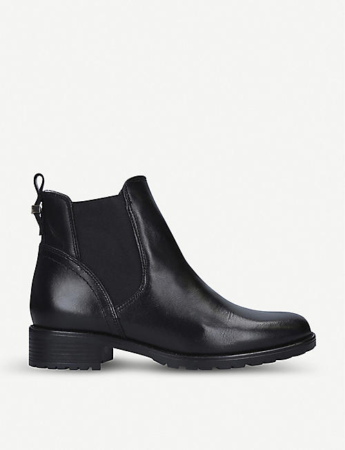 CARVELA COMFORT Russ shearling-lined leather Chelsea boots