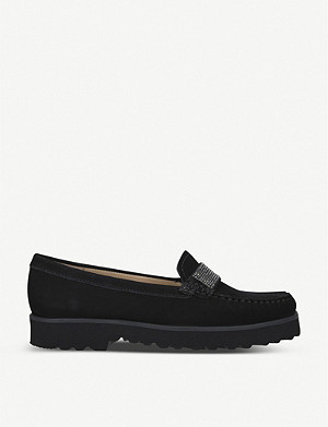 CARVELA COMFORT Charm suede loafers