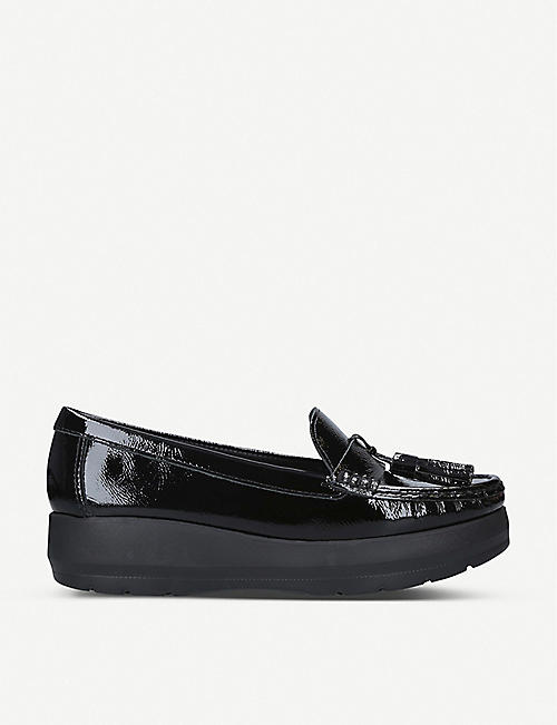 CARVELA COMFORT: Camille patent-leather loafers