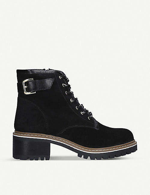 CARVELA Tame buckle suede ankle boots