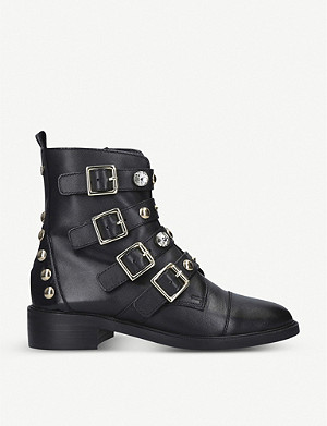CARVELA Saucy leather biker boots