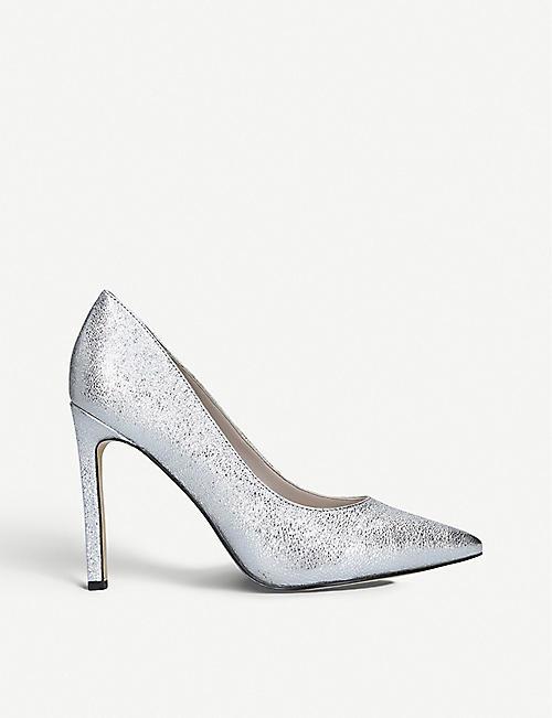 71f1643ed6cd NINE WEST Tatiana metallic leather court shoes