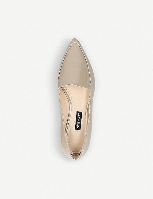 NINE WEST Abay smoking flats
