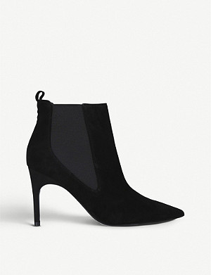 NINE WEST Joliee leather ankle boots