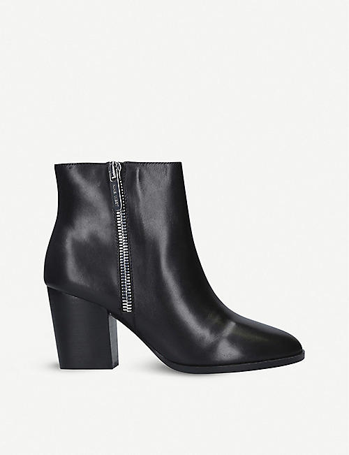 NINE WEST: Niomi suede ankle boots