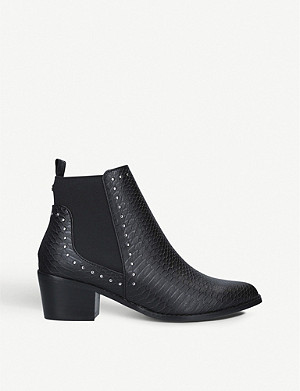 KG KURT GEIGER Spindle stud-detail ankle boots