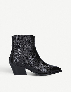 ALDO Agroacia leather heeled ankle boots