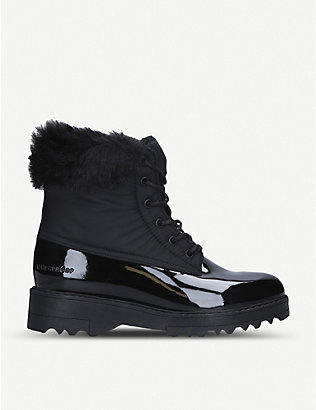 ALDO: Breadda patent-finish waterproof snowboots