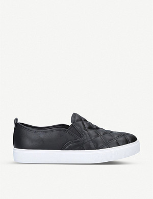 ALDO Elvucyla quilted trainers