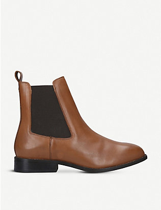 CARVELA COMFORT: Rest leather Chelsea boots