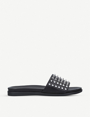 CARVELA Kover studded leather sliders