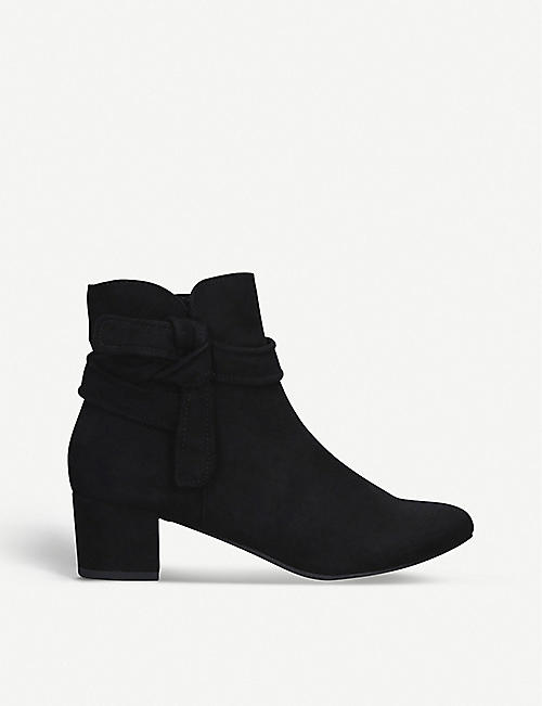 NINE WEST: Carson suede ankle boots