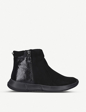 CARVELA COMFORT Captain contrast panel ankle boots