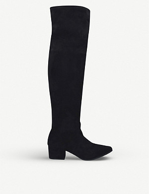 KG KURT GEIGER Wella suede knee-length boots