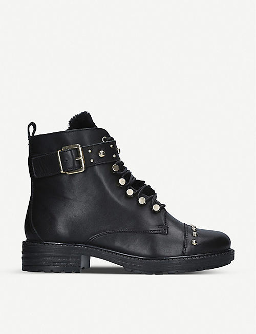 CARVELA Sonny studded leather biker boots