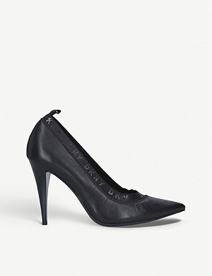 DKNY Katrina leather heels