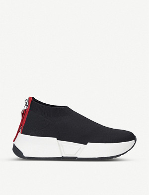 DKNY Marcel slip-on textile trainers
