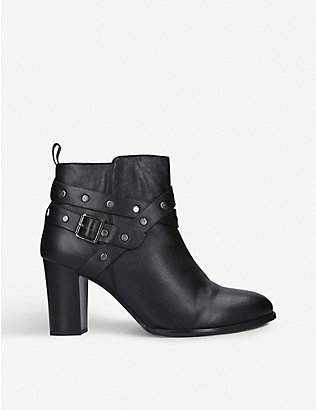 NINE WEST: Craze leather ankle boots