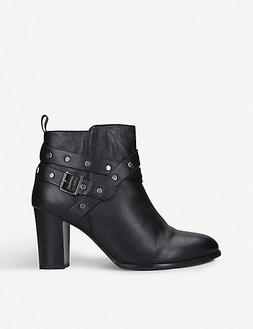 NINE WEST Craze leather ankle boots