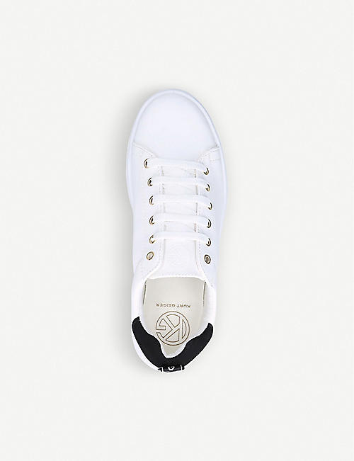 KG KURT GEIGER Locky faux-leather trainers