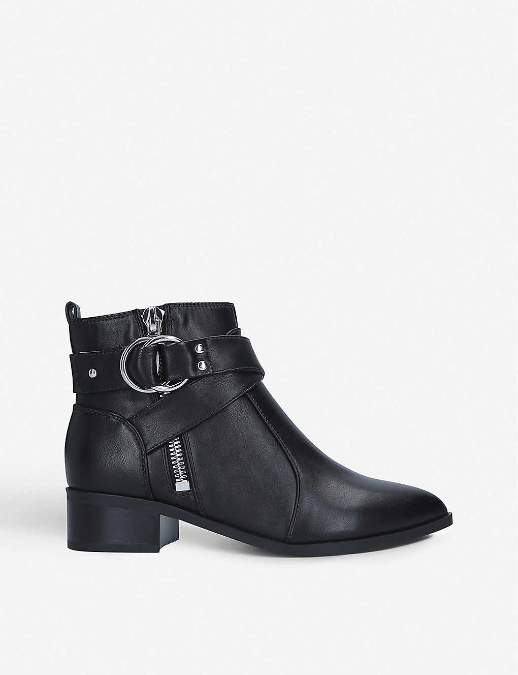 NINE WEST: Dahila leather ankle boots