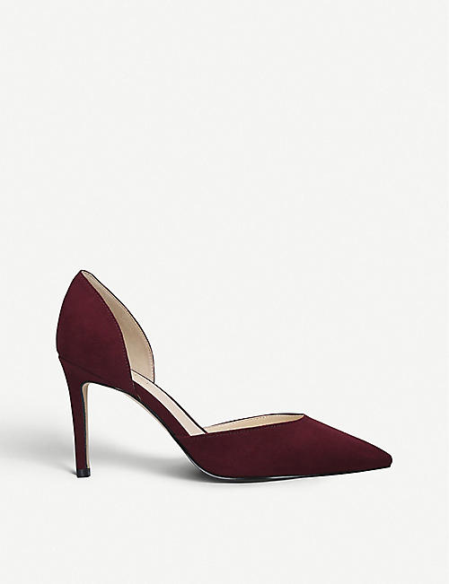 NINE WEST Nine West Eava faux-suede courts
