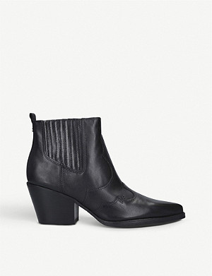 SAM EDELMAN Winona leather ankle boots