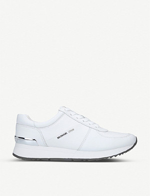 MICHAEL MICHAEL KORS Allie panelled leather trainers