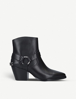 MICHAEL MICHAEL KORS Goldie leather ankle boots