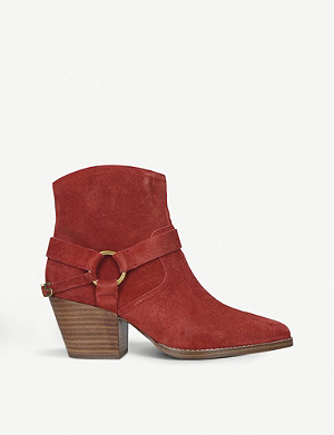 MICHAEL MICHAEL KORS Goldie suede ankle boots