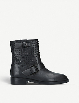 MICHAEL MICHAEL KORS Reeves leather ankle boots