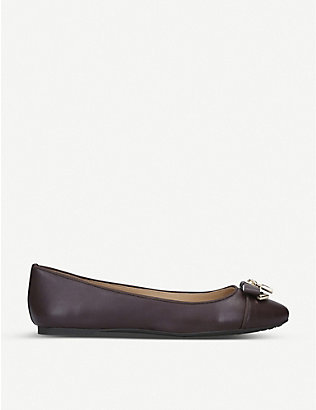 MICHAEL MICHAEL KORS: Alice leather ballet flats