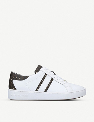 MICHAEL MICHAEL KORS Keaton faux-leather trainers