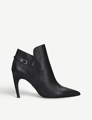 SAM EDELMAN Fiora leather ankle boots