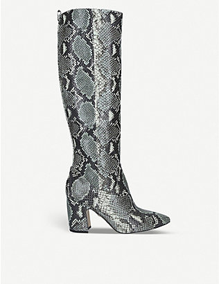 SAM EDELMAN: Hai leather knee-high boots
