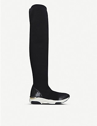 CARVELA: Lethal knee-high sock trainers
