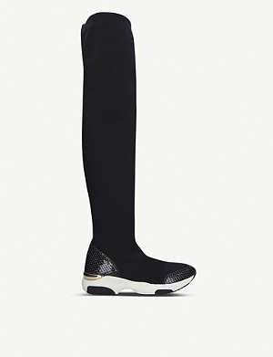 CARVELA Lethal knee-high sock trainers