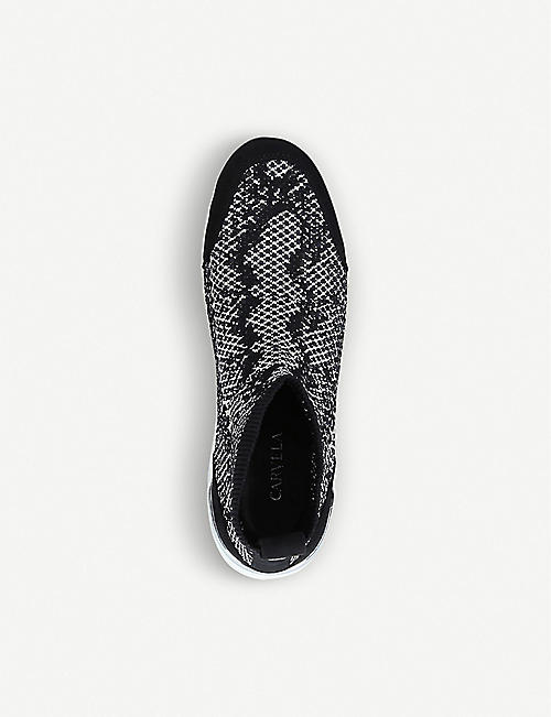 CARVELA Lavish knitted trainers