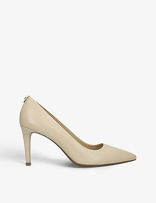 MICHAEL MICHAEL KORS: Dorothy Flex heeled leather courts