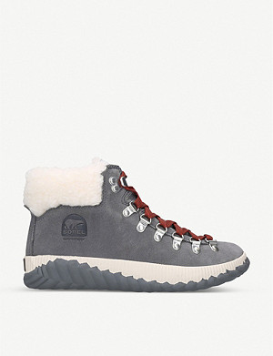 SOREL Out N About Plus Conquest suede ankle boots